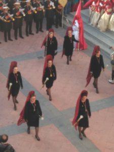 SUSPENDIDA. Reunión Camareras Mantillas Cofradía @ Sede Cofradía Templo El Salvador