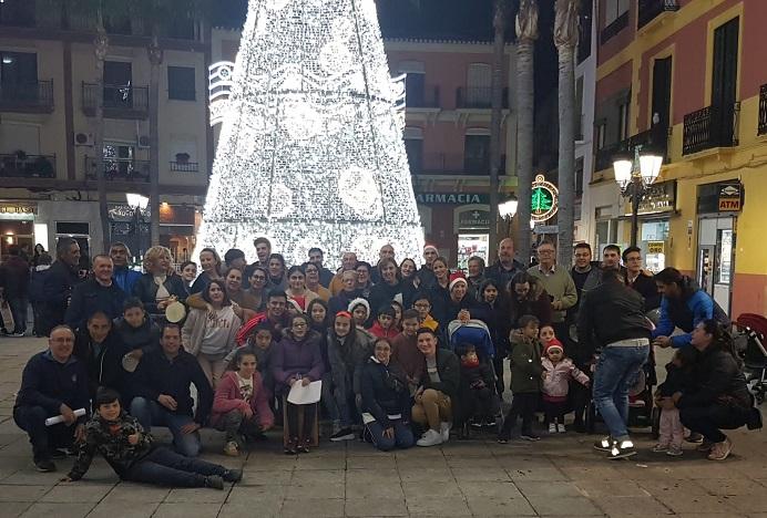 Navidad Cofrade. Visita antes de Nochebuena a los belenes instalados en Almuñécar