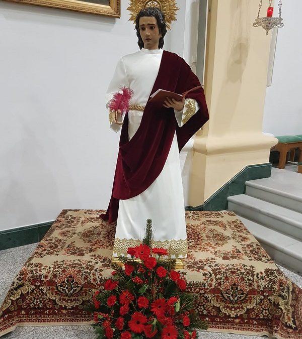 Cultos a San Juan Evangelista, Patrón de la Juventud Cofrade sexitana