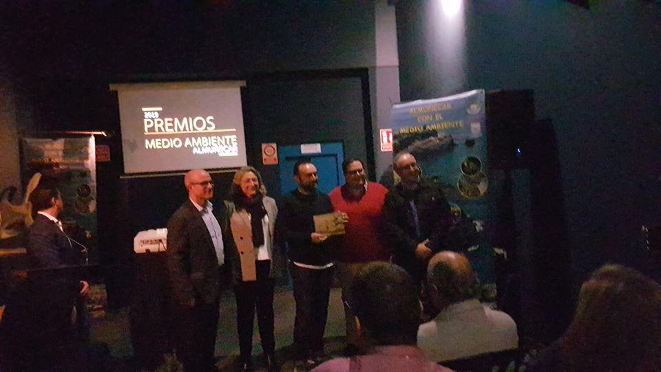 """La """"Cofradía de San Juan"""" recibe reconocimiento en los Premios Medio Ambiente 2019."""